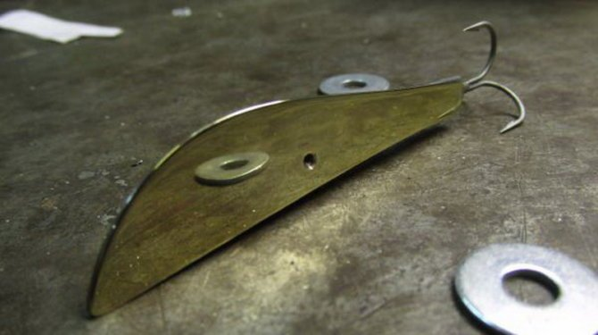 Заготовка из металла для бокоплава