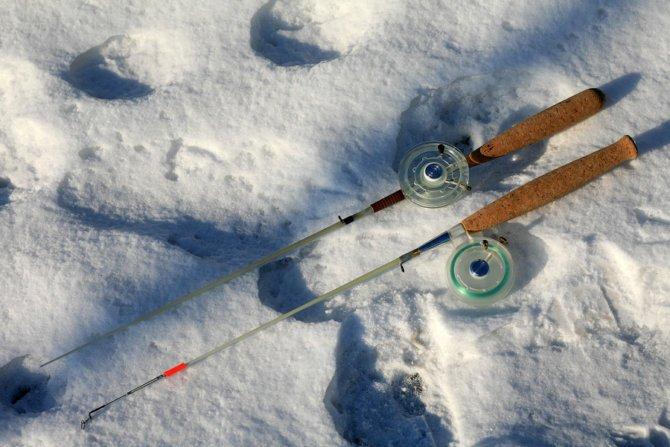 Зимние удочки на судака