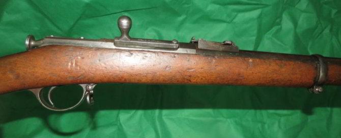 Приклад винтовки Бердана