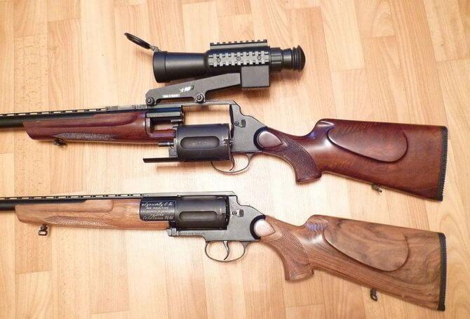 Барабанные ружья