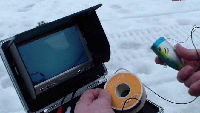 Камера для зимней ловли