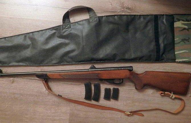 Карабин ТОЗ-99 с чехлом