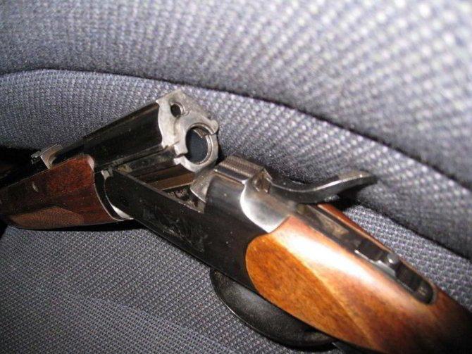 Охотничье ружье Белка