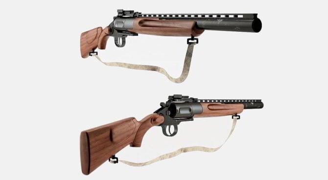 Охотничьи револьверы
