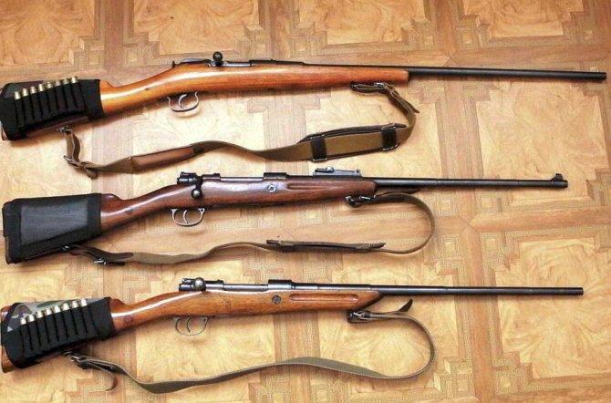 Охотничьи ружья МЦ-20-01