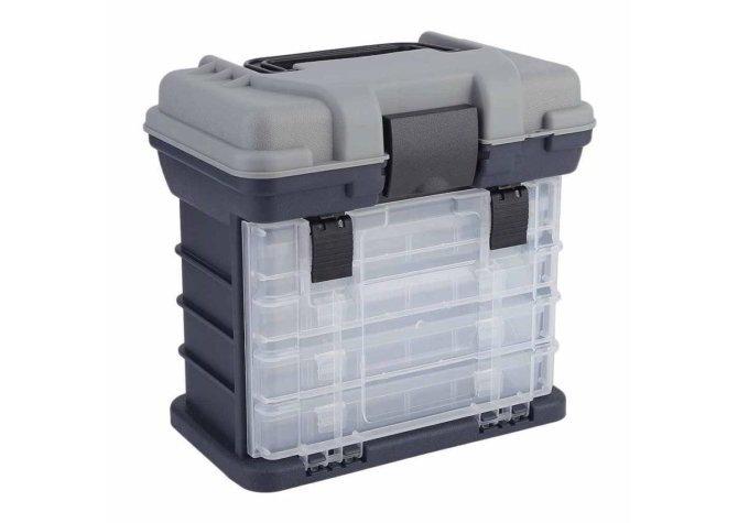 Пластиковый рыболовный ящик