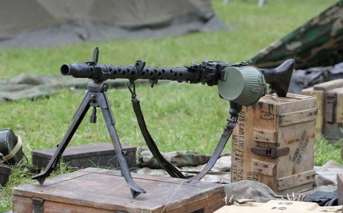Пулемет МГ-34-О
