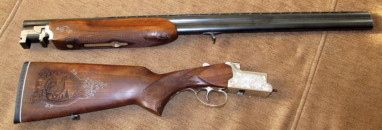 Ружье ТОЗ-120 с гравировкой