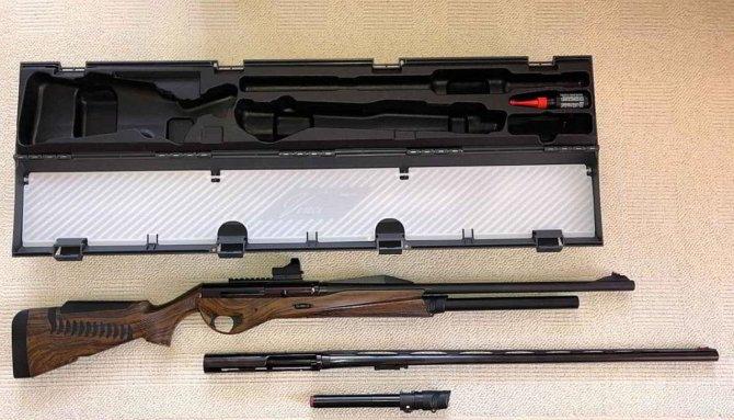 Ружье с кейсом