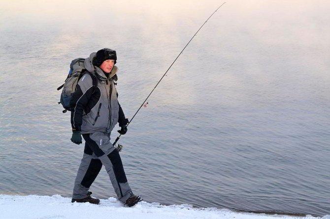 Рыбак зимой
