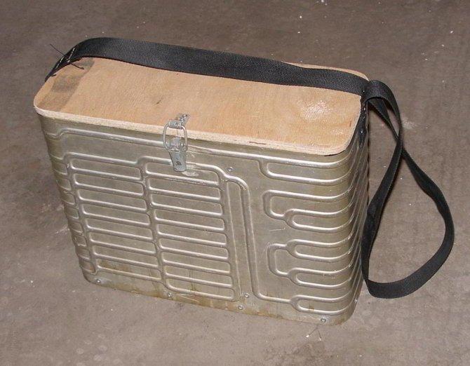 Ящик с лямками