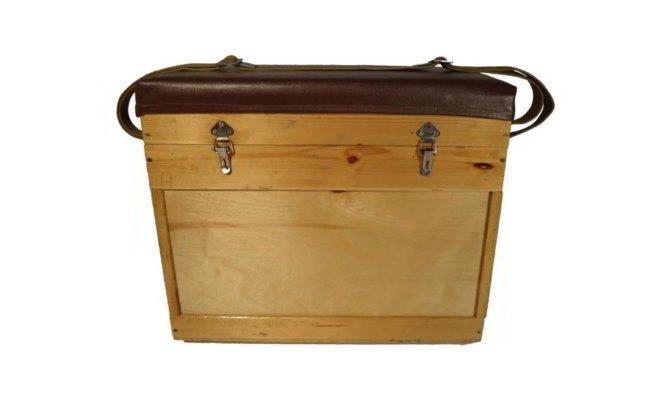 Ящик с сидушкой