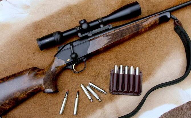 Кучность стрельбы Blaser R8