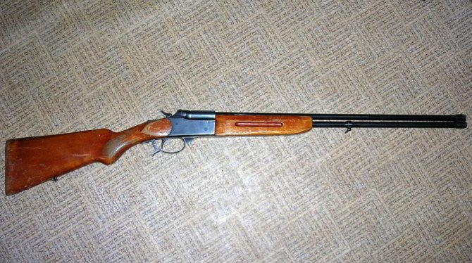 Нарезное ружье