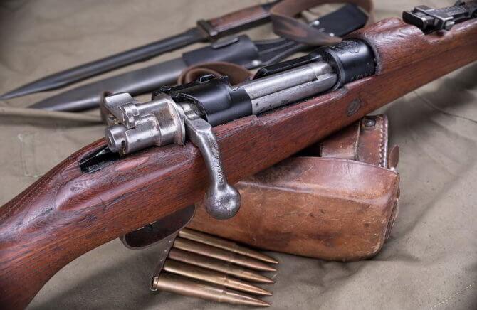 Немецкая винтовка Маузер