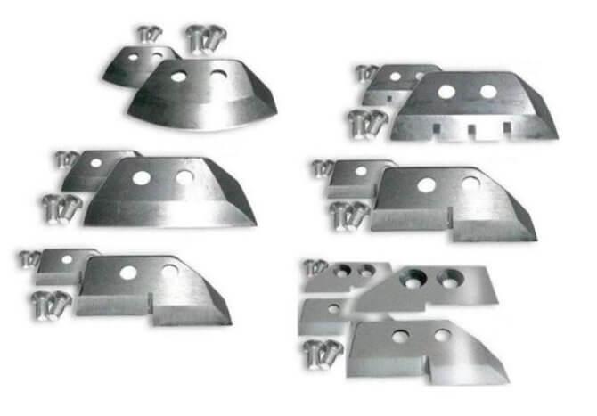 Разновидности ножей для ледобуров