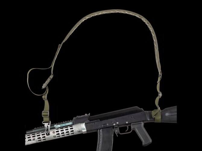 Оружие с ремнем