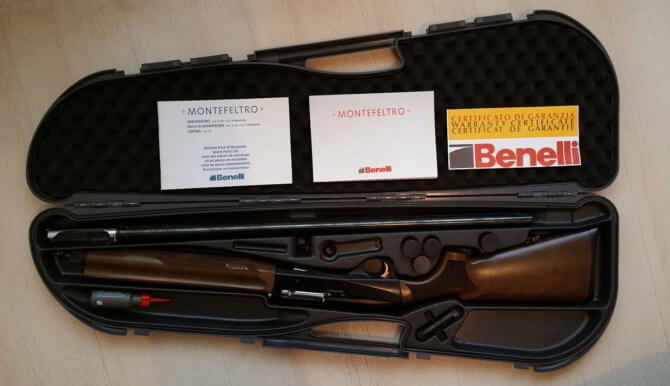 Полуавтоматическое ружье Benelli Montefeltro