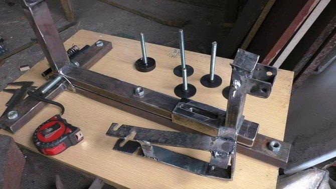 Процесс изготовления станка
