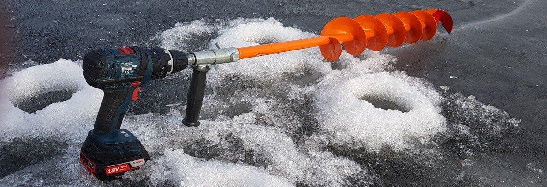 Шуруповерт для бурения льда
