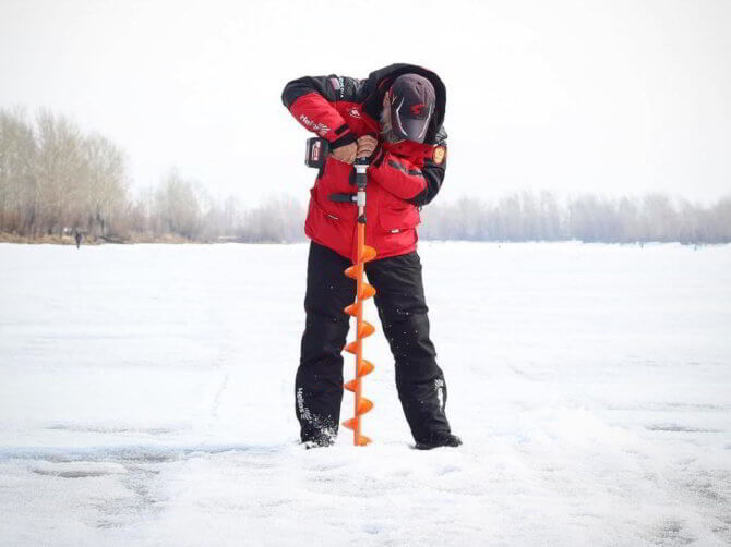Шуруповерт для зимней рыбалки