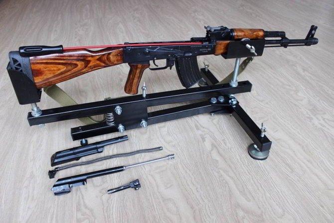 Универсальный станок для пристрелки