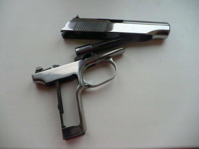 Технология воронения оружия